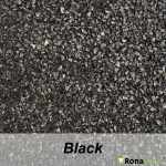 RonaDeck Rubber Granule Surfacing Black