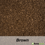 RonaDeck Rubber Granule Surfacing Brown