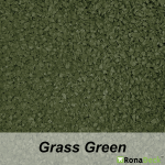 RonaDeck Rubber Granule Surfacing Grass Green