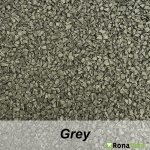 RonaDeck Rubber Granule Surfacing Grey