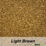RonaDeck Rubber Granule Surfacing Light Brown