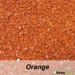 RonaDeck Rubber Granule Surfacing Orange