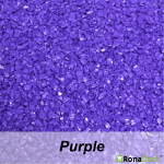 RonaDeck Rubber Granule Surfacing Purple