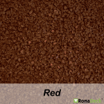 RonaDeck Rubber Granule Surfacing Red