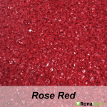RonaDeck Rubber Granule Surfacing Rose Red