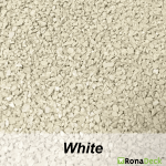 RonaDeck Rubber Granule Surfacing White