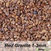 Ronadeck Stone Carpet Red Granite 1-3mm