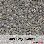 ronafloor stone carpet mid grey 2-4mm