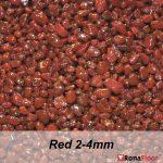 ronafloor stone carpet red 2-4mm
