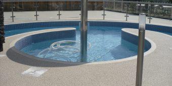 ronadeck resin bound surfacing haven swimming pool surround