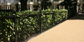 ronadeck resin bound surfacing park