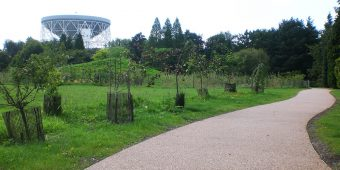 ronadeck resin bound surfacing driveway jodrell bank centre for astrophysics