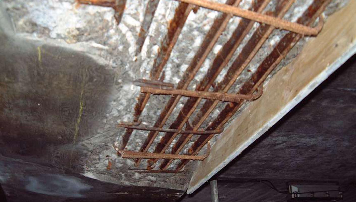 Ronacrete Carbonation Of Reinforced Concrete