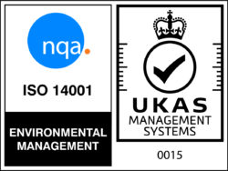 NQA ISO 14001 Logo - UKAS