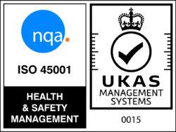 NQA ISO 45001 Logo - UKAS