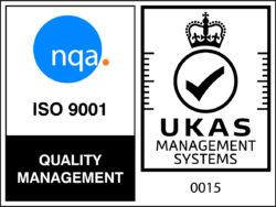 NQA ISO 9001 Logo - UKAS